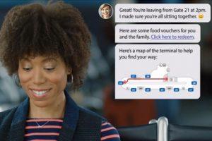 Nueva opción de mensajería móvil innovadora para usuarios de aerolíneas