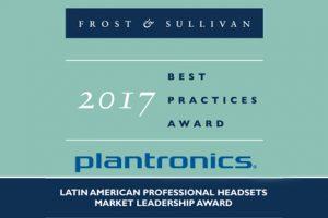 Plantronics recibe reconocimiento en el mercado de auriculares profesionales en América Latina