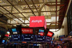 Avaya sale al Mercado en la Bolsa de Nueva York