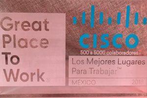 Cisco: el Mejor Lugar para Trabajar en México